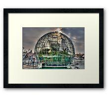 sphere of Renzo Piano Framed Print