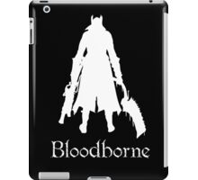 Bloodborne Saw Cleaver  and Repeating Pistol   Hunter's Mark  Logo iPad Case/Skin
