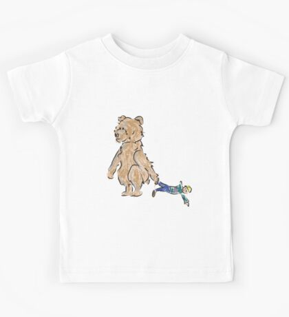 baby bears favorite doll Kids Tee