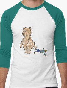 baby bears favorite doll Men's Baseball ¾ T-Shirt