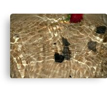 RIPPLES ON WATER Canvas Print