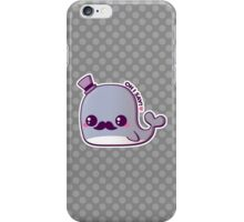 Kawaii Fancy Whale iPhone Case/Skin