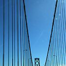 San Francisco Bay Bridge by pat gamwell