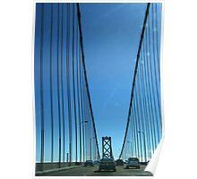 San Francisco Bay Bridge Poster