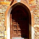 Caledon church door by fourthangel