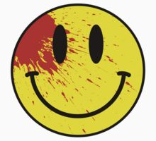 Acid House Smiley Face - Bloodied by Chairboy