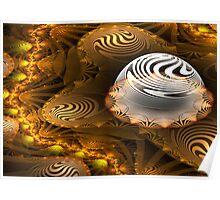 Portico swirl Poster