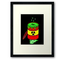 Toxic by Chillee Wilson Framed Print