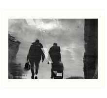 Ghosts in the winter Art Print