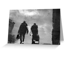 Ghosts in the winter Greeting Card