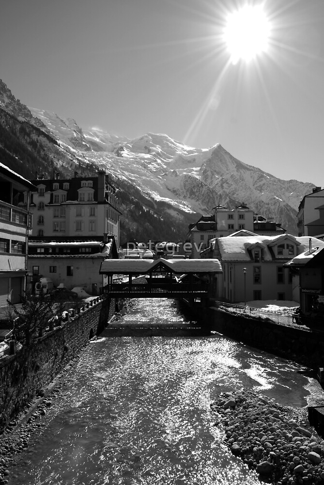 Chamonix Bridge by petegrev