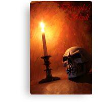 Dracula's Skull Canvas Print