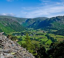 Borrowdale from Castle Crag by Andy Grant