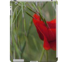 poppies in the garden iPad Case/Skin