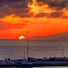 Sunrise over Crete by Tom Gomez