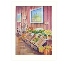 The Fruit Stand Art Print