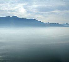 Leman lake by Fran E.