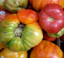 Tomatoes by dijle