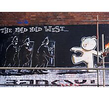 Banksy Bear Photographic Print