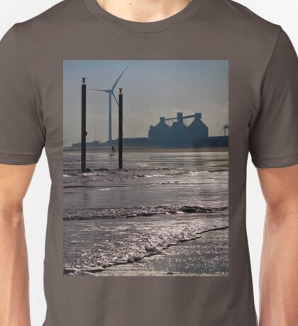 Cambois beach in Northumberland Unisex T-Shirt
