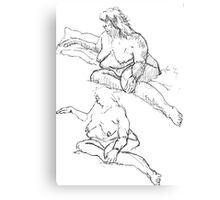 Figure Studies Canvas Print