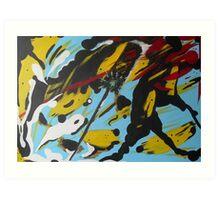 Semaforo Art Print