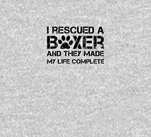 I rescued a boxer Unisex T-Shirt