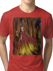 The Golden Bird Tri-blend T-Shirt