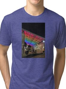 Rainbow at the Mall Tri-blend T-Shirt