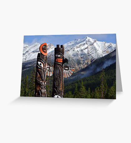 Totems Greeting Card