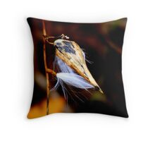 Sneaking Out Throw Pillow