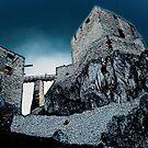 Csesznek castle ruins by zolim