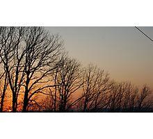 Setting Sun Long Photographic Print