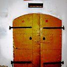 old yellow doors by Rada