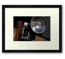 Vintage Argoflex Framed Print