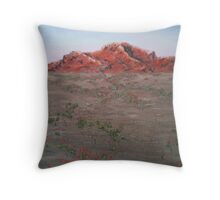 Red Outback Throw Pillow