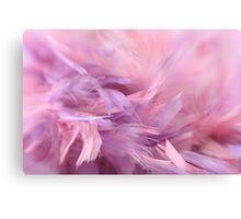 Flow of softness Canvas Print