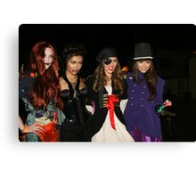 celebs of holloween  Canvas Print
