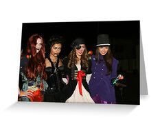 celebs of holloween  Greeting Card
