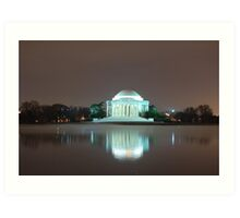 Jefferson Memorial Art Print