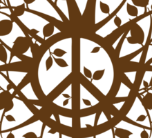 The Peace Tree Sticker