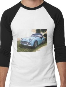 1960 Triumph TR3 Men's Baseball ¾ T-Shirt