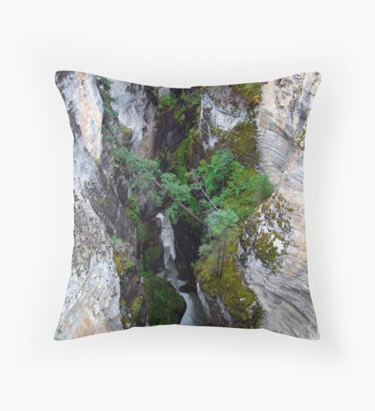 Maligne Canyon(1) Throw Pillow