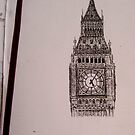 Big Ben Close-up by Valentina Henao