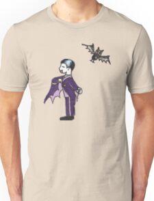 Vampire and His Bat Unisex T-Shirt