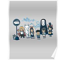 Studio Ghibli - All Characters  Poster