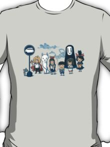 Studio Ghibli - All Characters  T-Shirt