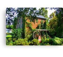 Lindale Grist Mill Canvas Print