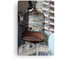 Bird Cage - Human Cage Canvas Print