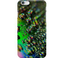 Water Drops - Rainbow Colors iPhone Case/Skin